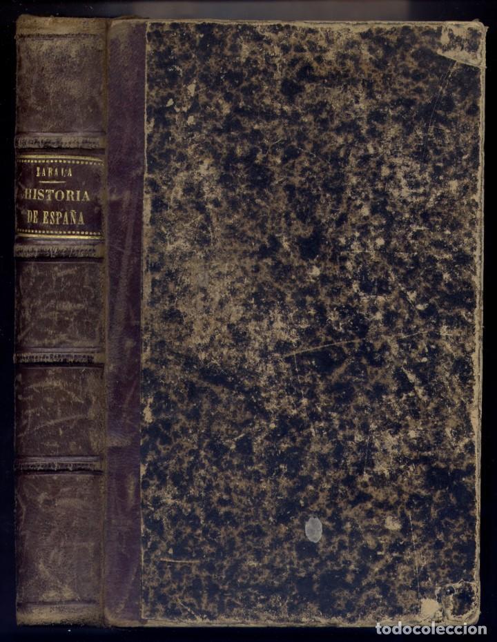 Libros antiguos: ZABALA URDANIZ, Manuel (1852-1927). Compendio de Historia de España. 1886 - Foto 2 - 195184500