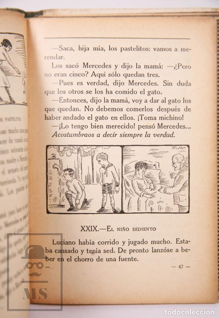 Libros antiguos: Libro de Escuela - Yo Quiero Saber Leer. Primer Libro de Lectura. Ezequiel Soler -Magisterio Español - Foto 4 - 195185131