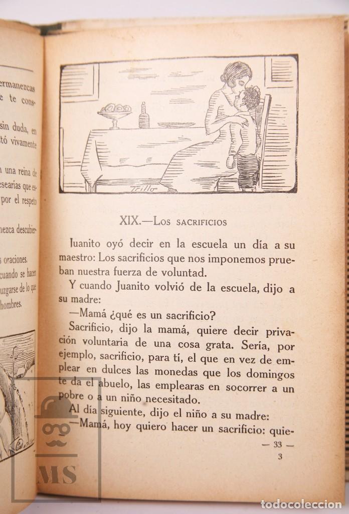 Libros antiguos: Libro de Escuela - Yo Quiero Saber Leer. Primer Libro de Lectura. Ezequiel Soler -Magisterio Español - Foto 5 - 195185131