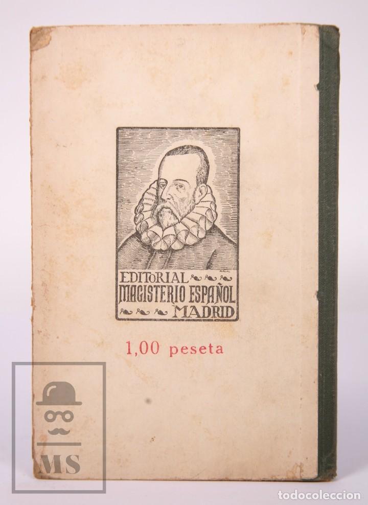 Libros antiguos: Libro de Escuela - Yo Quiero Saber Leer. Primer Libro de Lectura. Ezequiel Soler -Magisterio Español - Foto 7 - 195185131