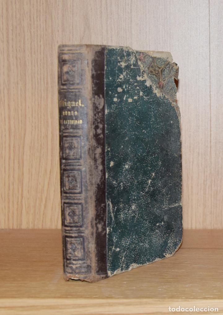 Libros antiguos: CURSO PRÁCTICO DE LATINIDAD - Raimundo de MIGUEL - Foto 2 - 195207816