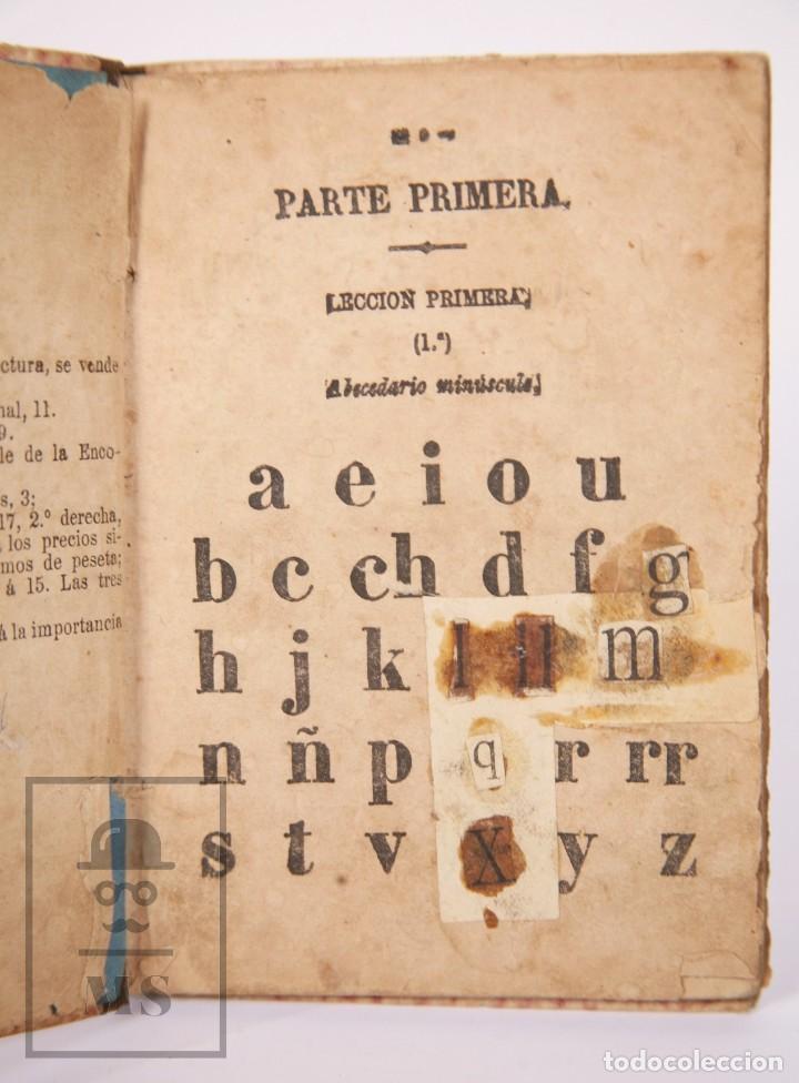 Libros antiguos: Antiguo Libro de Texto - Nuevo Método Racional de Lectura. José María Florez - Madrid, 1886 - Foto 4 - 195260071
