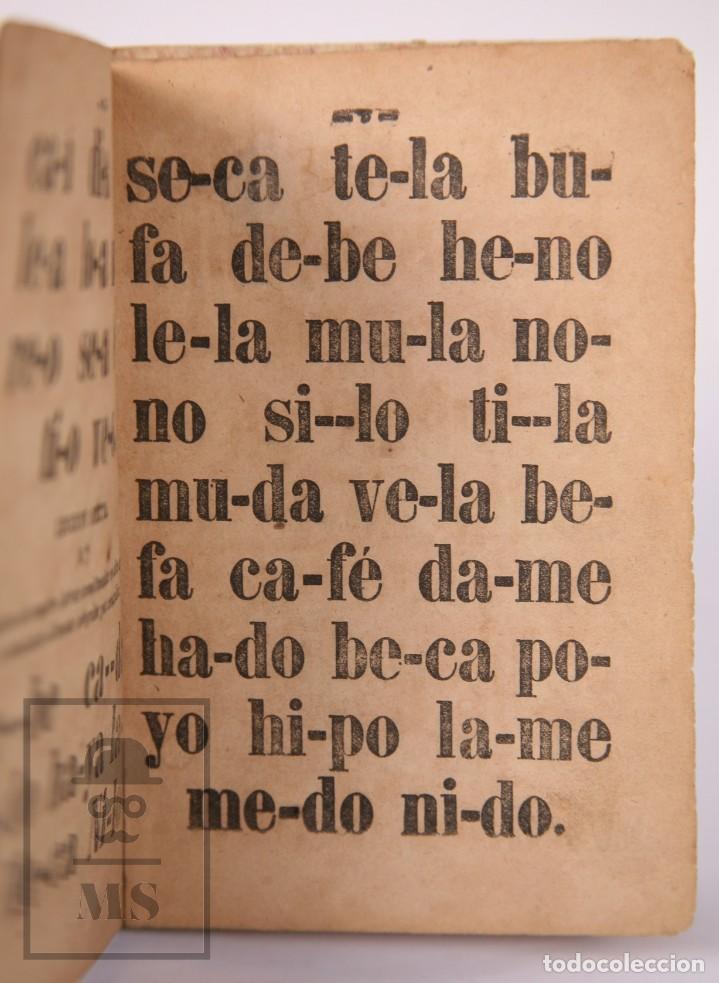 Libros antiguos: Antiguo Libro de Texto - Nuevo Método Racional de Lectura. José María Florez - Madrid, 1886 - Foto 6 - 195260071