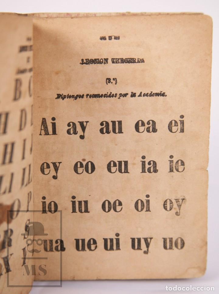 Libros antiguos: Antiguo Libro de Texto - Nuevo Método Racional de Lectura. José María Florez - Madrid, 1886 - Foto 7 - 195260071