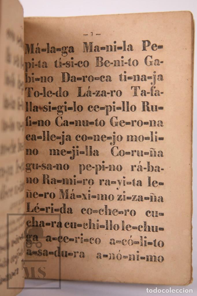 Libros antiguos: Antiguo Libro de Texto - Nuevo Método Racional de Lectura. José María Florez - Madrid, 1886 - Foto 8 - 195260071