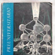Libros antiguos: FUENTES DE ENERGÍA - GIL CRESPO, ADELA ED. ANAYA. SERIE PREUNIVERSITARIO. 1961. SALAMANCA. IN 4º RU. Lote 195299948