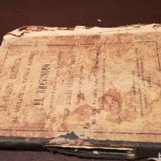 Libros antiguos: EL BREVÍSIMO Y NUEVO MÉTODO Y LIBRO PRIMERO DE LECTURA. LIBRO DE 1882.. Lote 195336810