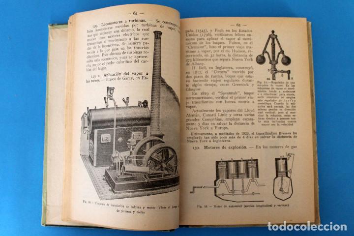 Libros antiguos: Libro Grado Superior - Elementos de Ciencias Fisico-Naturales - Joaquin Pla - 1919 - 1º Ed - Foto 4 - 195342935