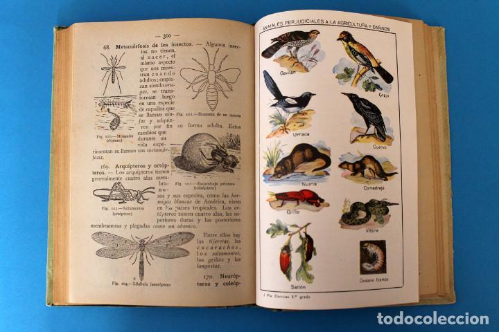 Libros antiguos: Libro Grado Superior - Elementos de Ciencias Fisico-Naturales - Joaquin Pla - 1919 - 1º Ed - Foto 6 - 195342935