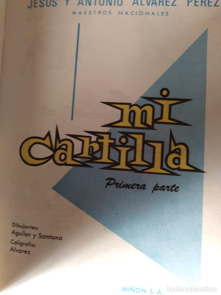 Libros antiguos: MI CARTILLA. PRIMERA PARTE. ÁLVAREZ. 1966 impecable estado - Foto 2 - 195364157