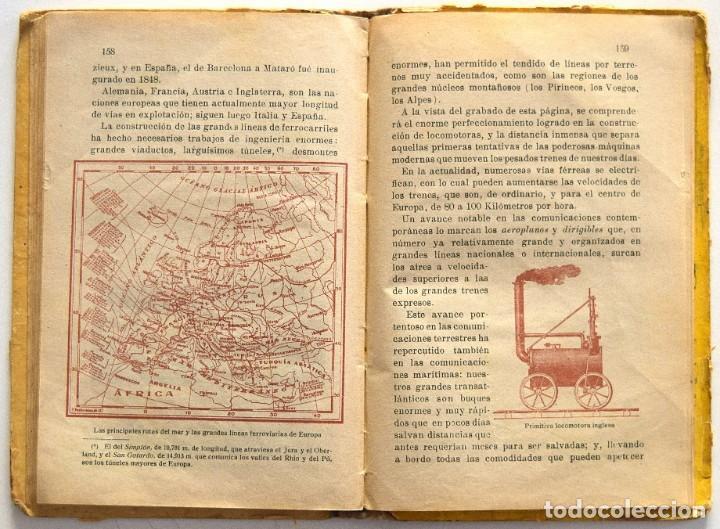 Libros antiguos: LA TIERRA Y EL HOMBRE - JOAQUÍN PLA CARGOL - DALMAU CARLES PLA - GERONA AÑO 1922 - CON 125 GRABADOS - Foto 7 - 195766631