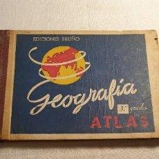 Libros antiguos: GEOGRAFIA ATLAS BRUÑO. Lote 197389817