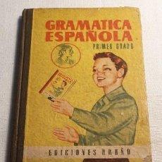 Libros antiguos: GRAMATICA ESPAÑOLA BRUÑO. Lote 197390192