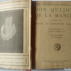 Libros antiguos: DON QUIJOTE DE LA MANCHA. CALLEJA 1905. Lote 197843681