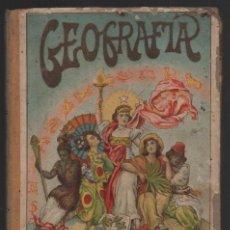 Libros antiguos: BARCELONA- GEOGRAFIA PARA NIÑOS- AÑO 1907, VER FOTOS. Lote 198048357
