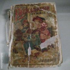 Libros antiguos: 1901. ENCICLOPEDIA PARA NIÑOS. CALLEJA. Lote 198290192