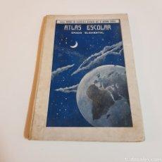 Livres anciens: ATLAS ESCOLAR - GRADO ELEMENTAL- CURSO PORCEL DE ENSEÑANZA PRIMARIA POR METODO CICLICO. Lote 199032282