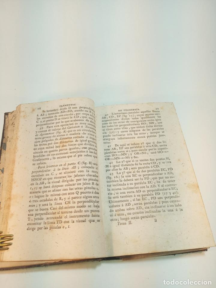Libros antiguos: Elementos de aritmética, álgebra y geometría. D. Juan Justo Gascía. Tomo Segundo. Salamanca. 1815. - Foto 3 - 199047678