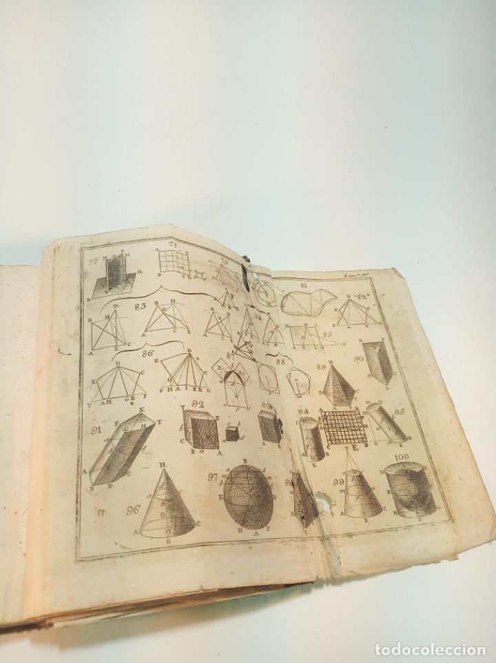 Libros antiguos: Elementos de aritmética, álgebra y geometría. D. Juan Justo Gascía. Tomo Segundo. Salamanca. 1815. - Foto 4 - 199047678