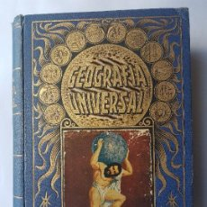 Libros antiguos: GEOGRAFIA UNIVERSAL - EDITORIAL RAMON SOPENA -BARCELONA.. 1935. TAPA DURA. 961 PAGINAS.. Lote 199346365