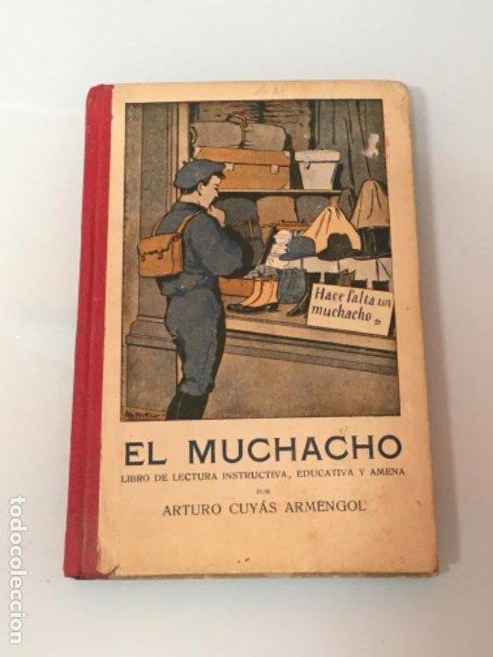 EL MUCHACHO ED HERNANDO 1932 (Libros Antiguos, Raros y Curiosos - Libros de Texto y Escuela)