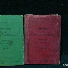 Libros antiguos: METODO DE LENGUA FRANCESA - CICLO A Y CICLO B - AÑOS 30. Lote 200039556