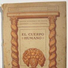 Libros antiguos: EL CUERPO HUMANO. Lote 200356652