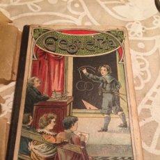 Libros antiguos: ANTIGUO LIBRO PALUZÍE ESCOLAR ELEMENTOS DE GEOMETRÍA POR FAUSTINO PALUZÍE BARCELONA AÑO 1923. Lote 200401732