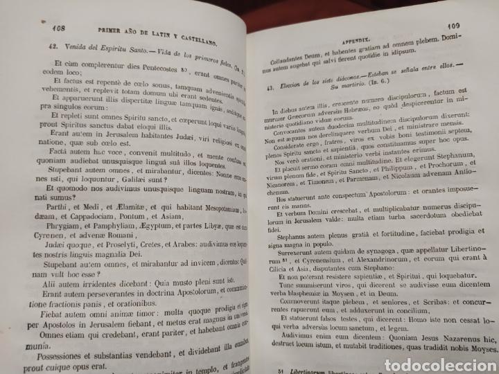 Libros antiguos: Autores Selectos Latinos y Castellanos 1849. - Foto 3 - 201999188