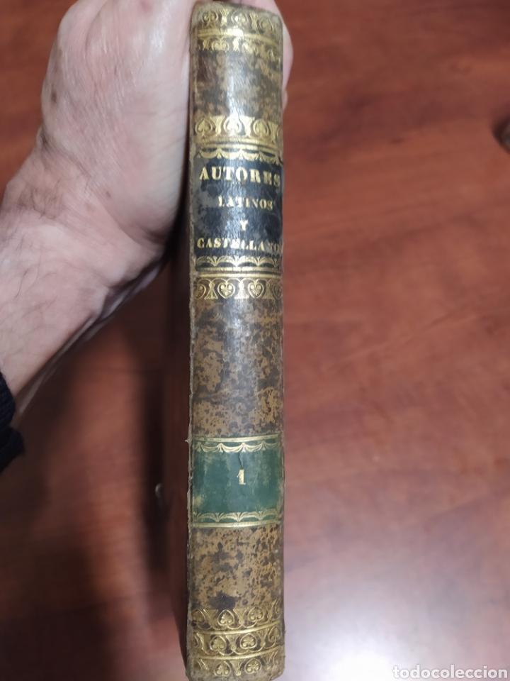 Libros antiguos: Autores Selectos Latinos y Castellanos 1849. - Foto 5 - 201999188