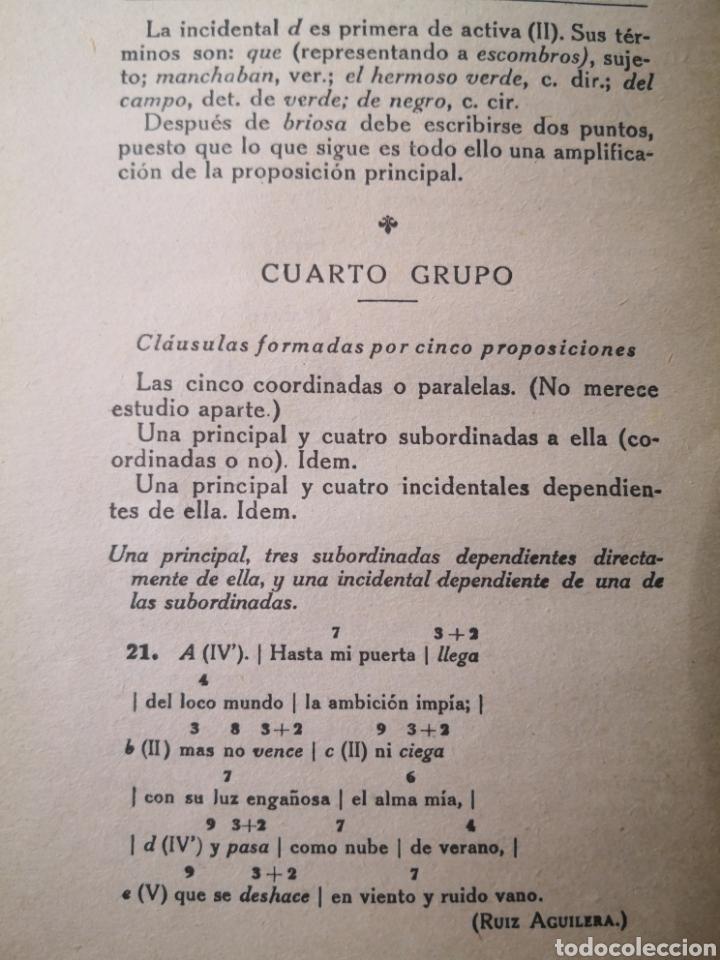 Libros antiguos: Análisis Lógico y Gramátical de la Lengua Castellana, Ezequiel Solana - Foto 3 - 203012371