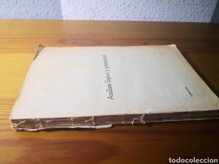 Libros antiguos: Análisis Lógico y Gramátical de la Lengua Castellana, Ezequiel Solana - Foto 5 - 203012371