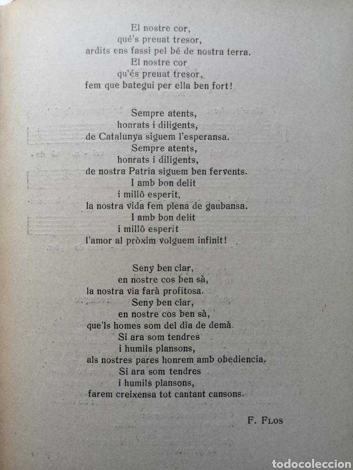 Libros antiguos: Cansoner Escolar Català - Foto 4 - 203133331