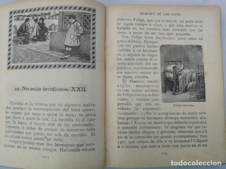 Libros antiguos: CURIOSO E INTERESANTISIMO LIBRO - DEBERES DE LOS NIÑOS - EL PENSAMIENTO INFANTIL - 1923 - EDITORIAL - Foto 3 - 203828300