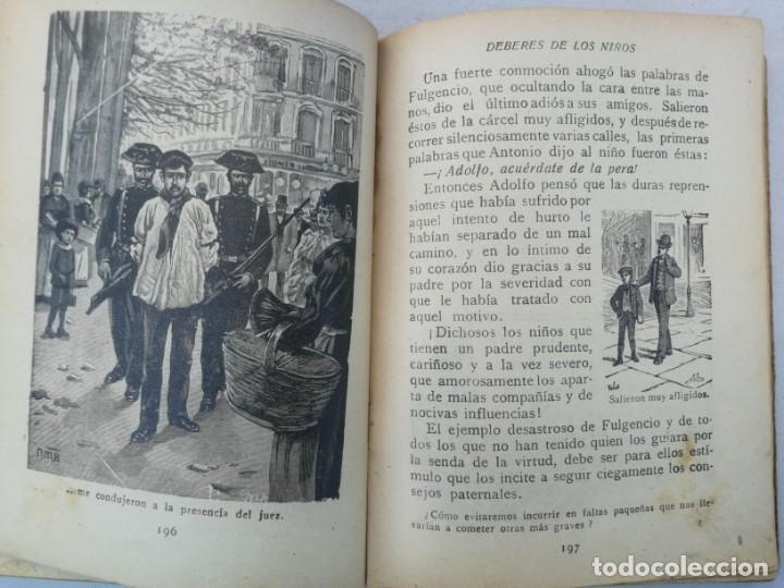 Libros antiguos: CURIOSO E INTERESANTISIMO LIBRO - DEBERES DE LOS NIÑOS - EL PENSAMIENTO INFANTIL - 1923 - EDITORIAL - Foto 5 - 203828300