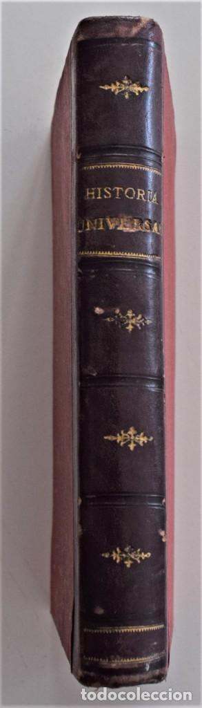 COMPENDIO DE HISTORIA UNIVERSAL - MANUEL ZABALA ARDANIZ - MADRID AÑO 1902 (Libros Antiguos, Raros y Curiosos - Libros de Texto y Escuela)