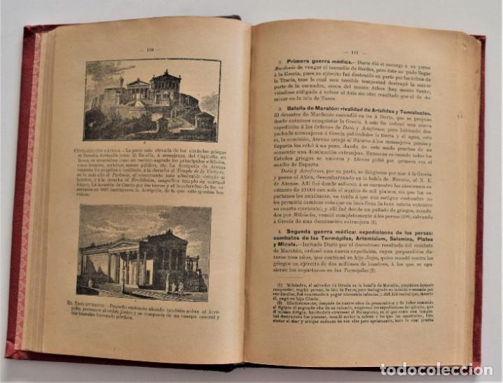 Libros antiguos: COMPENDIO DE HISTORIA UNIVERSAL - MANUEL ZABALA ARDANIZ - MADRID AÑO 1902 - Foto 6 - 204076726