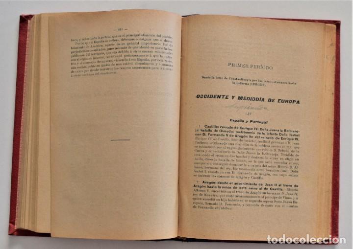 Libros antiguos: COMPENDIO DE HISTORIA UNIVERSAL - MANUEL ZABALA ARDANIZ - MADRID AÑO 1902 - Foto 8 - 204076726