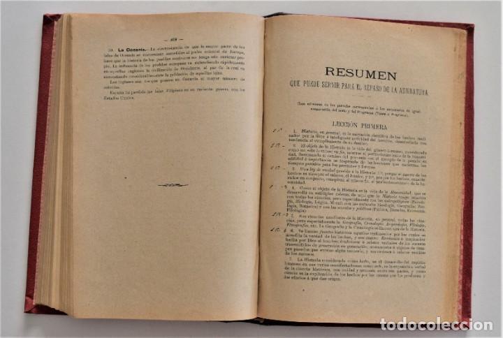 Libros antiguos: COMPENDIO DE HISTORIA UNIVERSAL - MANUEL ZABALA ARDANIZ - MADRID AÑO 1902 - Foto 9 - 204076726