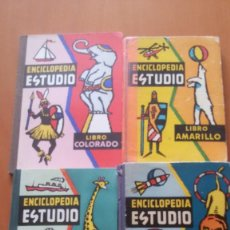 Libros antiguos: ANTIGUA ENCICLOPEDIA ESCOLAR DALMAU CARLES ESTUDIO (4 GRADOS). Lote 122922999