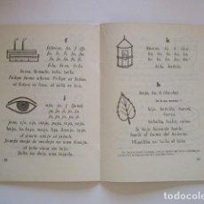 Libros antiguos: AÑO 1941, CARTILLA ESCOLAR, EL LENGUAJE EN LA ESCUELA, REAL ACADEMIA ESPAÑOLA, VER FOTOS. Lote 206169883