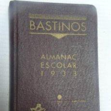 Libros antiguos: ALMANAC ESCOLAR 1933 CATALÁN, BARCELONA, VER FOTOS. Lote 207021435