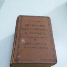 Libros antiguos: DICCIONARIO ENCICLOPEDICO ILUSTRADO LA FUENTE 1936. Lote 207035697