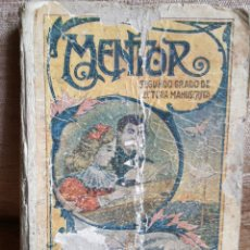 Libri antichi: MENTOR,SEGUNDO GRADO DE LECTURA MANUSCRITA. Lote 207621186