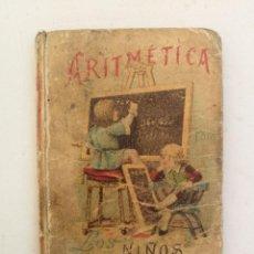 Libri antichi: ANTIGUO Y PRECIOSO LIBRITO DE ARITMETICA PARA NIÑOS - 1898 - ANTONIO GALLEGO CHAVES. EDITORIAL CALLE. Lote 207647292