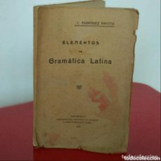 Libros antiguos: ELEMENTOS DE LA GRAMÁTICA LATINA 1922. Lote 207955333