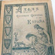 Libri antichi: S. SALINAS. ATLAS HISTÓRICO GENERAL Y DE ESPAÑA. 1926. Lote 208119092