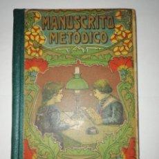 Libri antichi: MANUSCRITO METÓDICO. A.BORI Y FONTESTA 1917. Lote 208458642