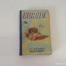 Libri antichi: EUROPA, SEGUNDO MANUSCRITO, DALMAU CARLES, MADRID, MEDIADOS XX. Lote 208586101