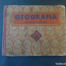 Libri antichi: GEOGRAFIA . EDITORIAL LUIS VIVES SA. BARCELONA ED. AÑO 1935. 8ª EDICION. Lote 208750953